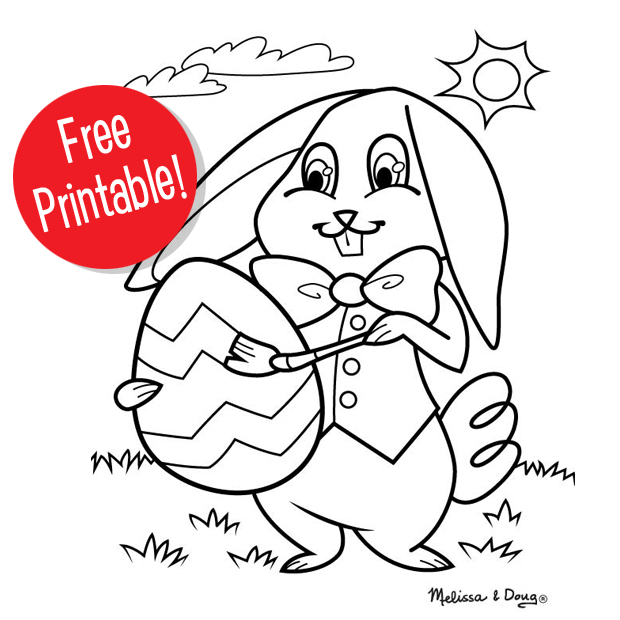 Easter Bunny Printable for Kids