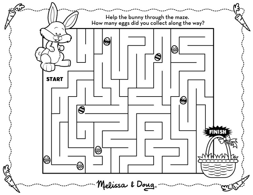 Tactueux image intended for easter maze printable