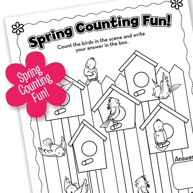 Spring Printable FUN! Part Two