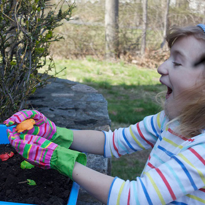 Gardening and Sensory Development