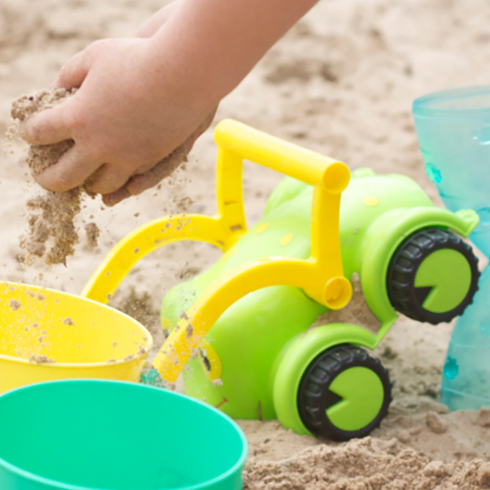Sensory Benefits of Sand Play