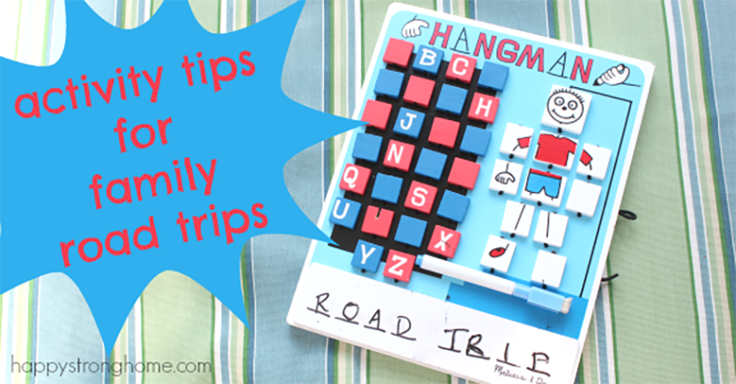 Activity Tips for Family Road Trips