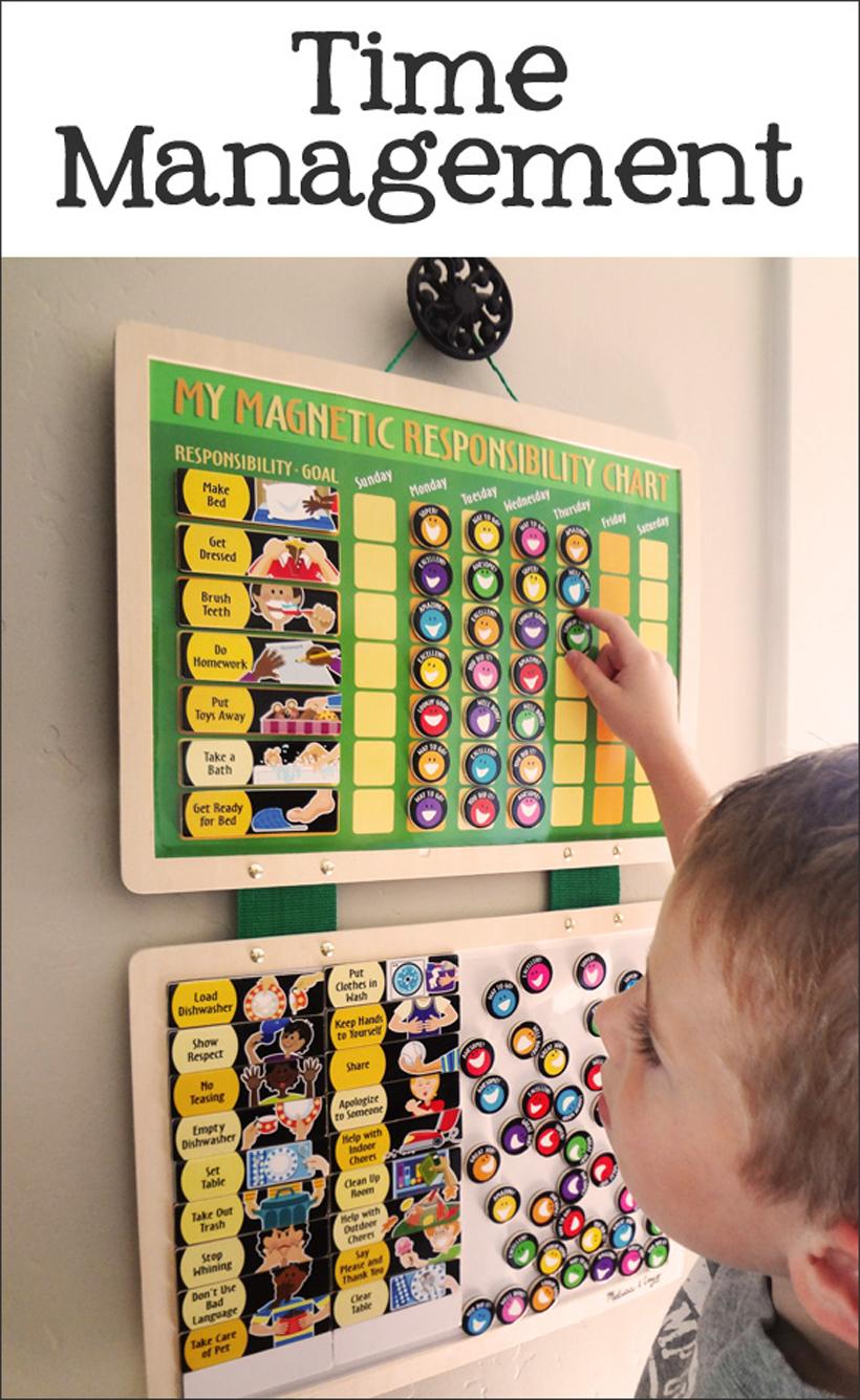 prepare for kindergarten time management