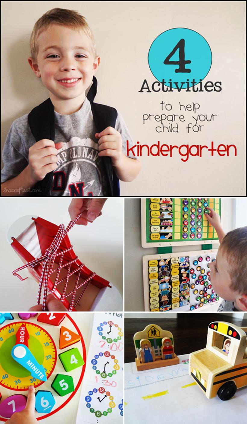 preparing for kindergarten pin