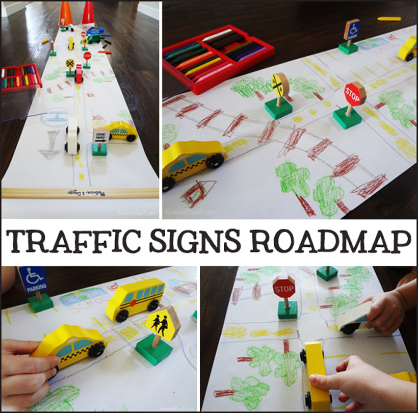 4 activities teaching summer safety traffic signs roadmap