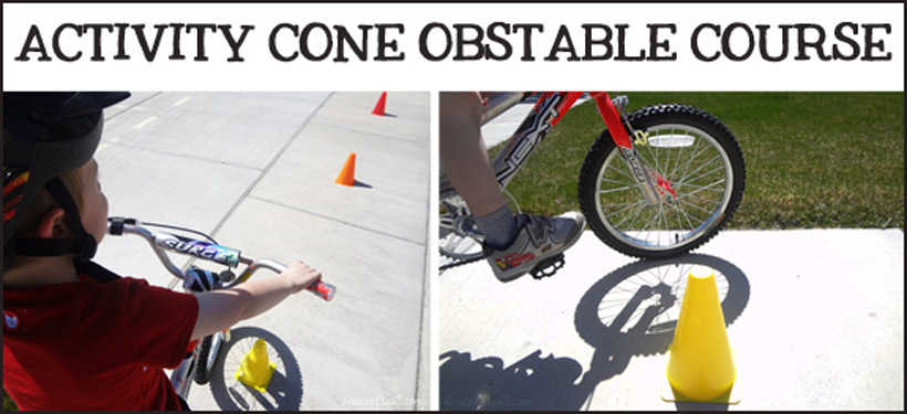 4 activities teaching summer safety activity cone obstacle course