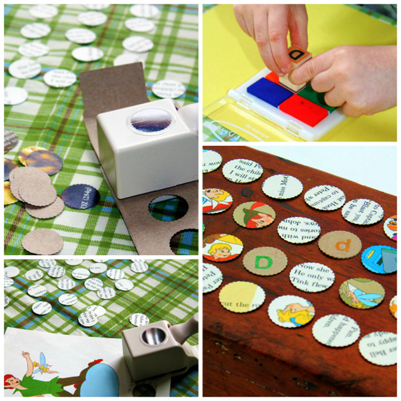 4 early literacy activities stamping