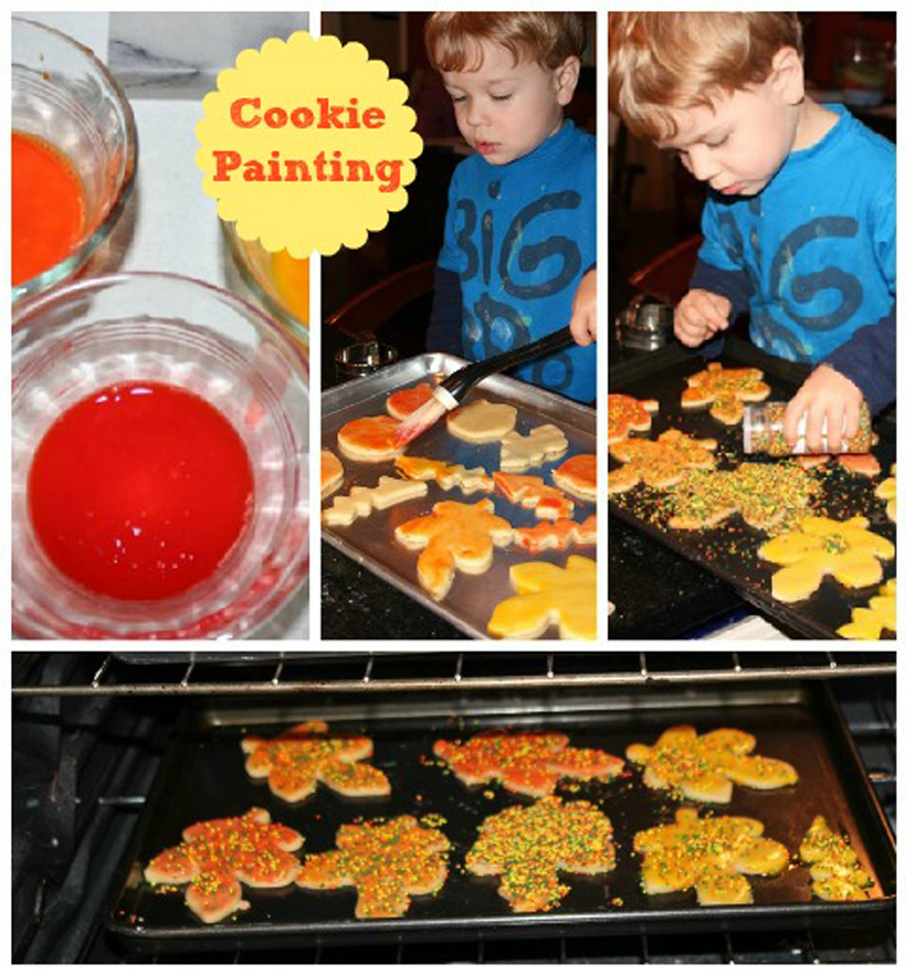 5 fun fall activities to embrace before winter cookie painting