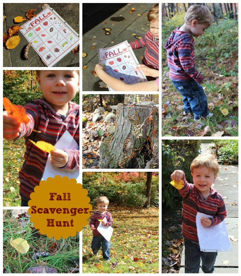 5 fun fall activities to embrace before winter scavenger hunt