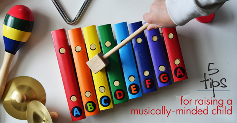 5 Tips for raising a Musically Minded Child