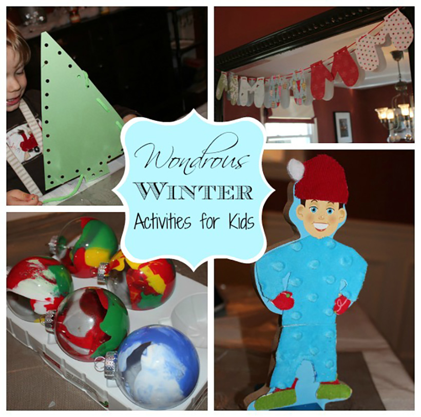 6 Wondrous Winter Activities for Kids