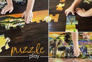 puzzle collage