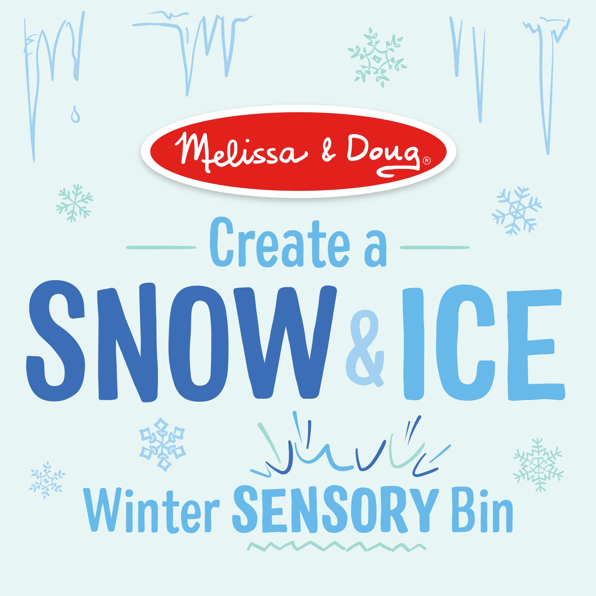 Winter Crafts: Make A Snow And Ice Sensory Bin