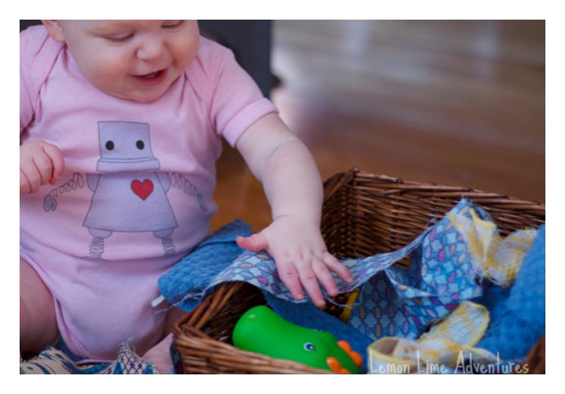 baby busy boxes play time
