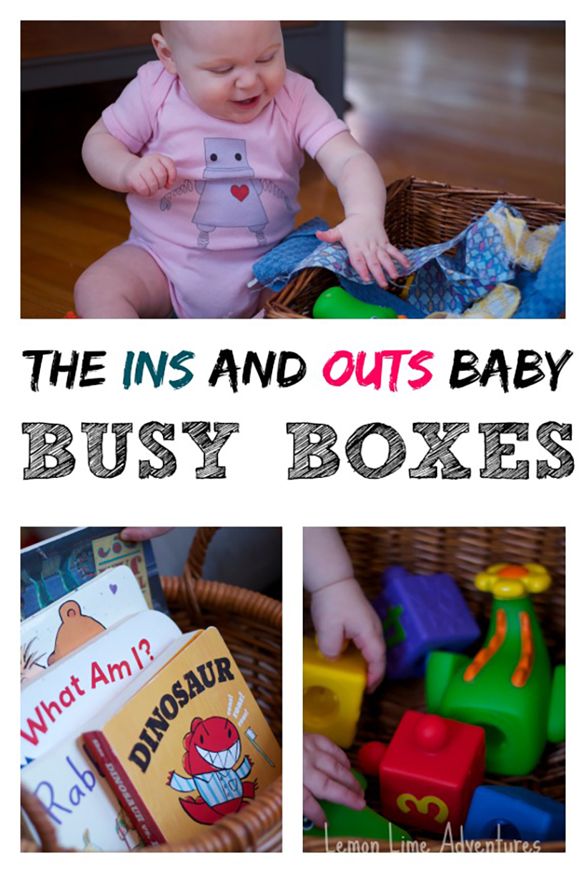 Learning Soft Skills In Childhood Can >> 5 Tips for Successful Busy Boxes for Babies | Melissa ...