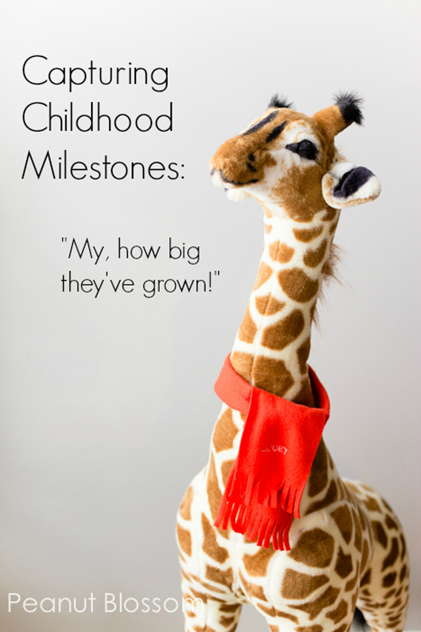 Capturing Childhood Milestones Title Image