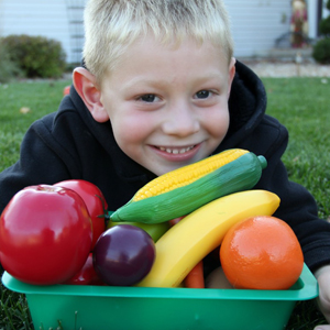 Color-Inspired Farmer's Market: Teaching Kids About Color Through Food