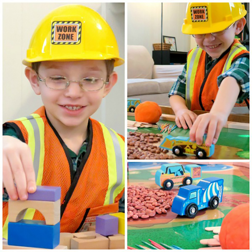 Construction Worker Pretend Play Prompt