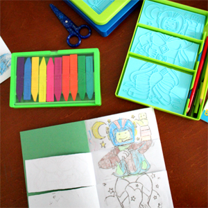Create an Adventure Flip-Flap Book