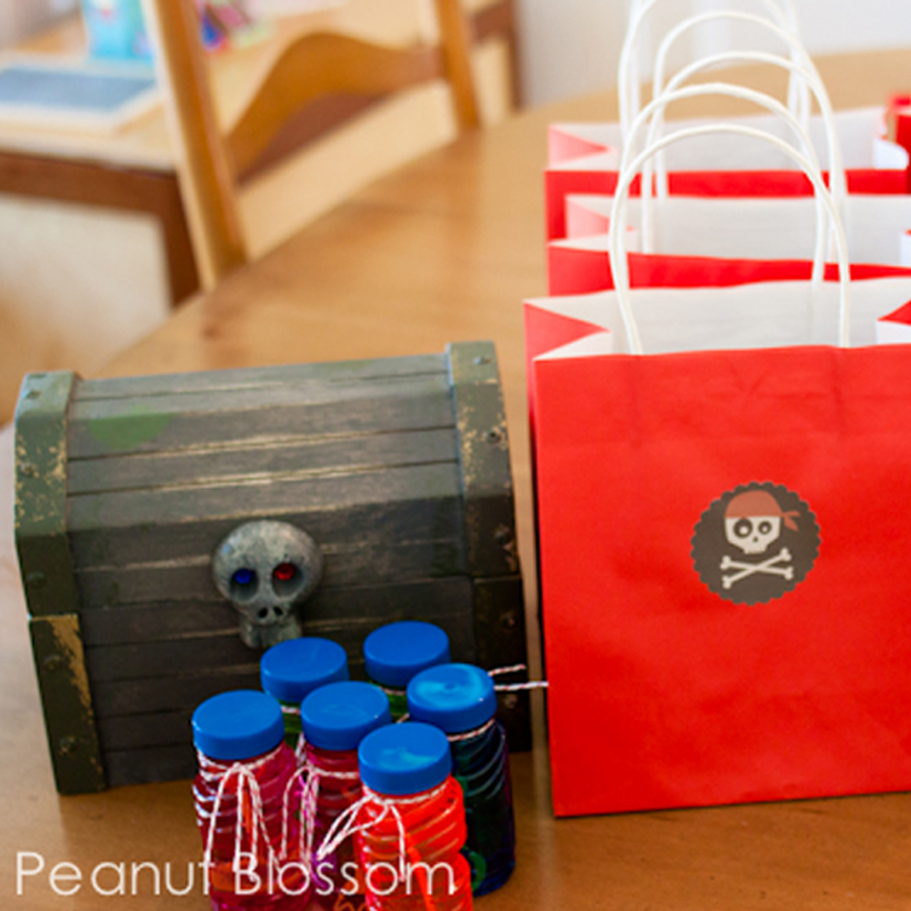 Games & Goodies for a Pirate Party