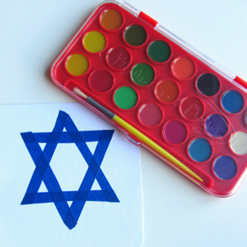 Hanukkah Craft For Toddlers (and older kids too)
