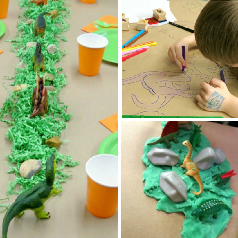 How to Throw a Dinosaur Birthday Party: Part 1 – Decorate & Celebrate!