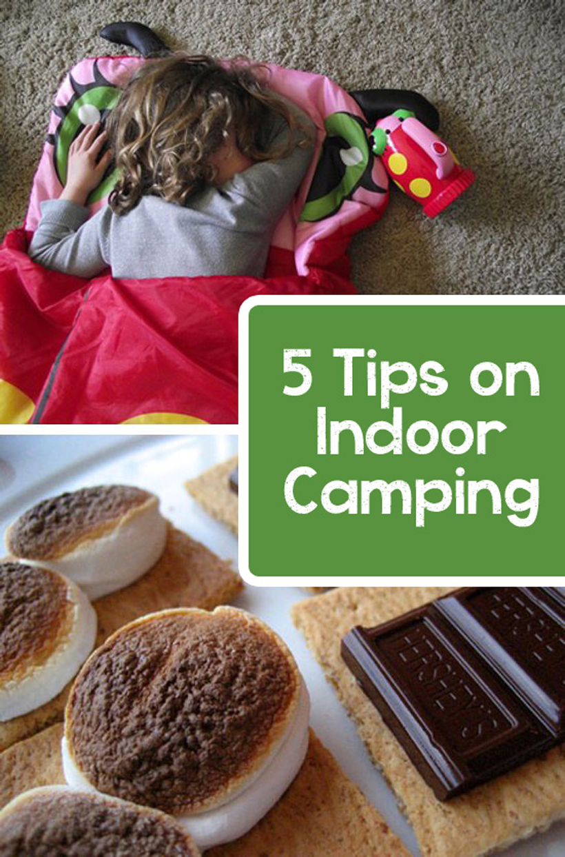 Let's Go Indoor Spring Camping