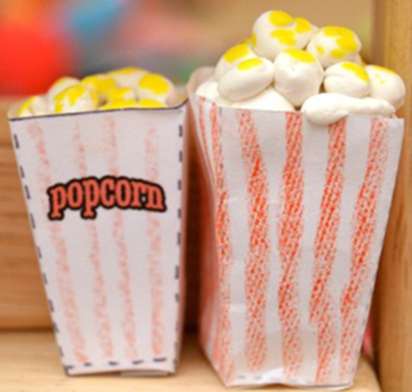 Val's Crafty Corner: Mini Movie Theater