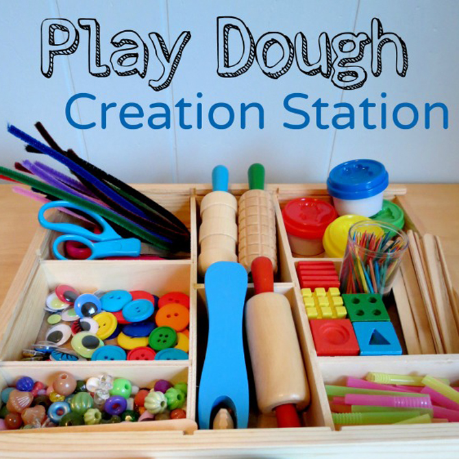 Play Prompts: Play Dough Creation Station!
