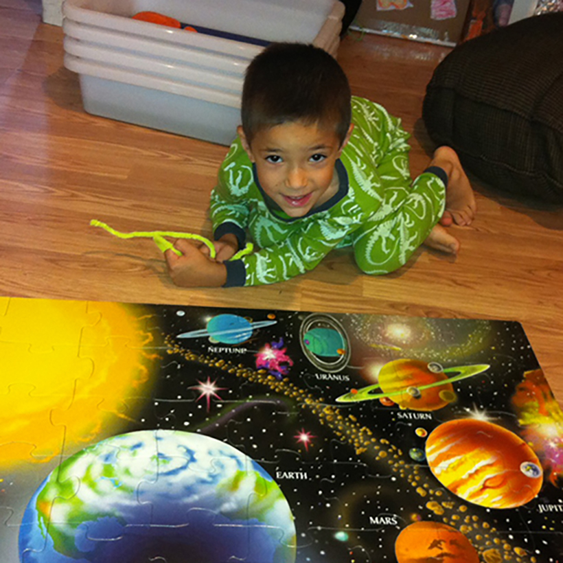 Two Simple Solar System Projects for your Astronaut-in-Training