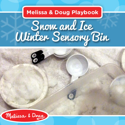 Creating a Snow and Ice Winter Sensory Bin: Activity Ideas & Tips