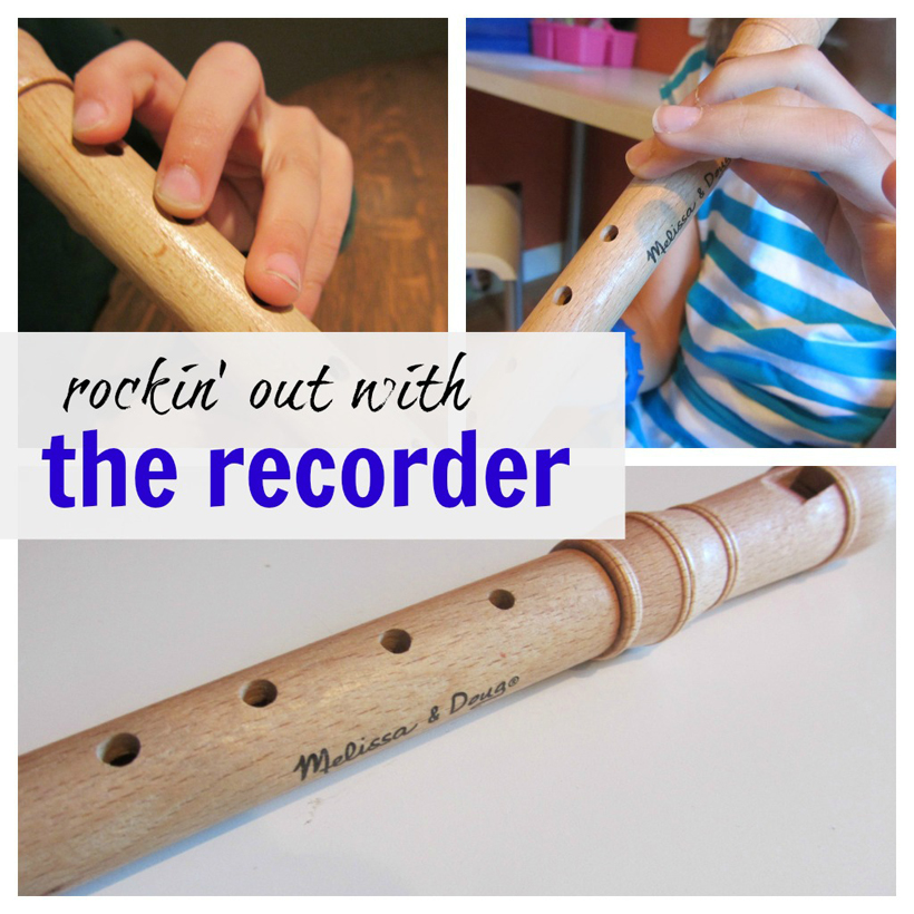 rockin out on the recorder hero collage