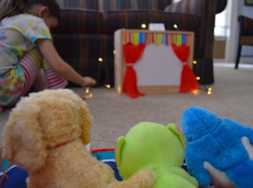 Val's Crafty Corner Mini Movie Theater