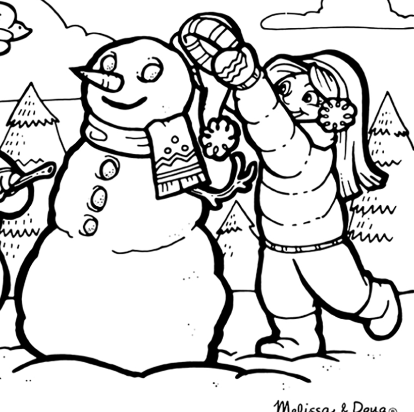 Winter Wonderland Printables for Kids