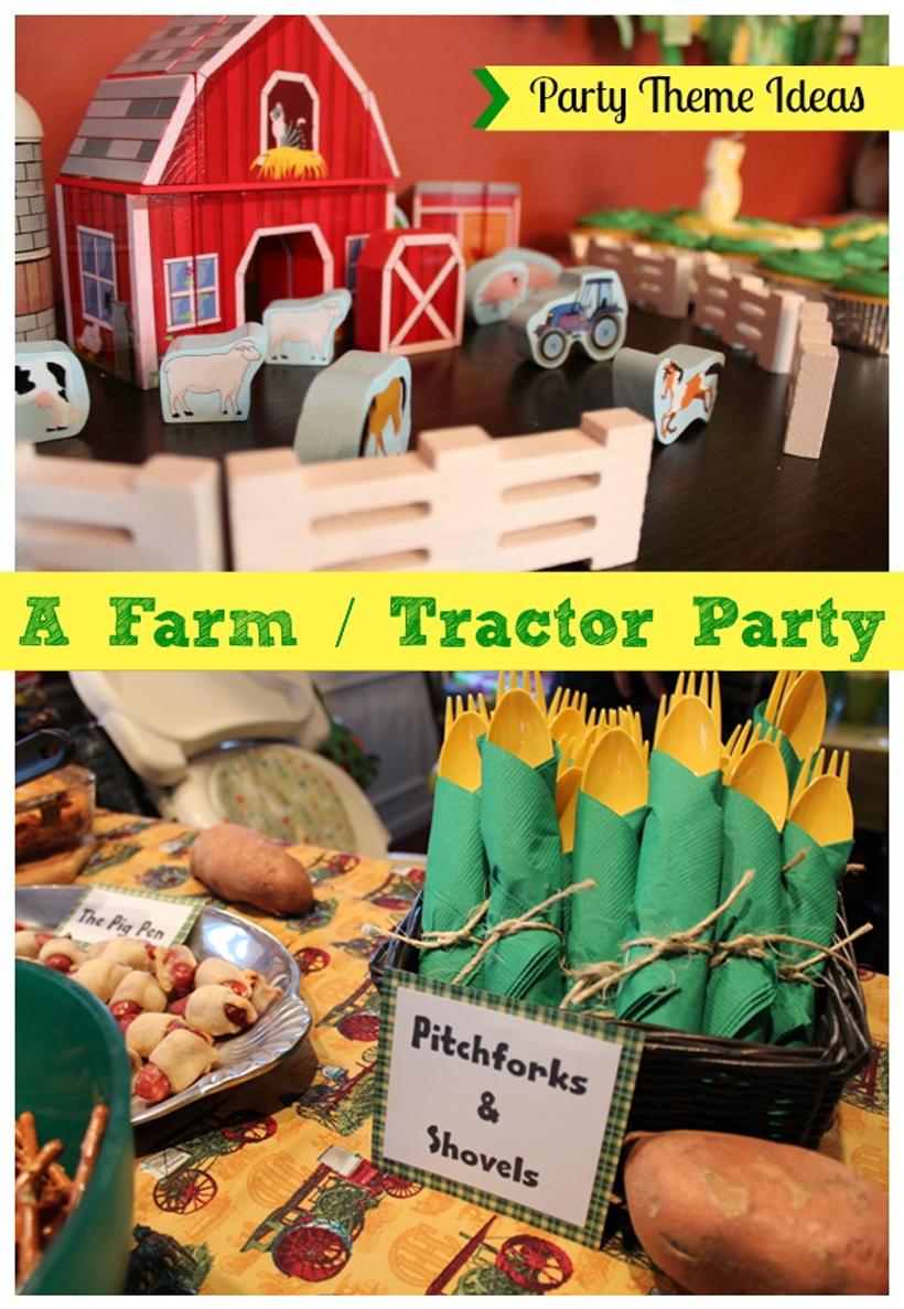 Yee Haw Hosting a Farm Tractor Themed Party