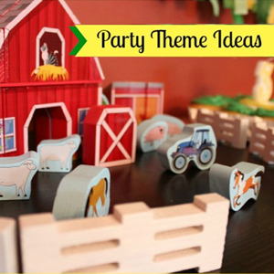 Yee-Haw! Hosting a Farm/Tractor-Themed Party!