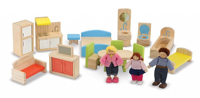 Accessories Included with Dollhouse