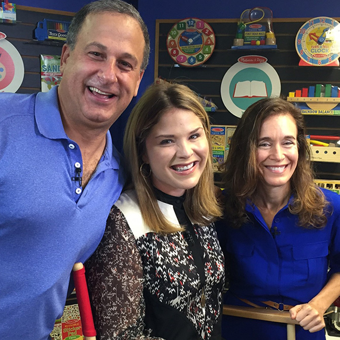 Melissa and Doug Appear on Sunday Today to Talk #TakeBackChildhood