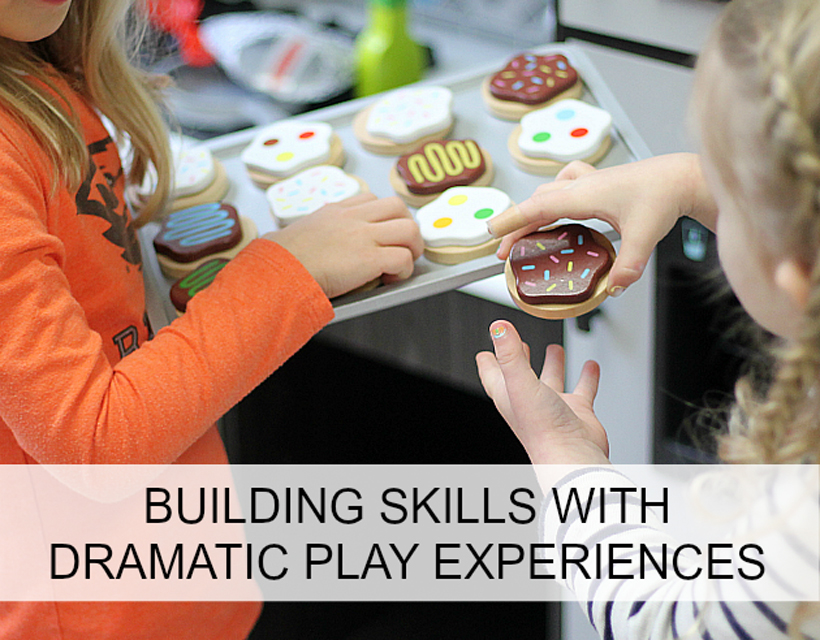 pretend play, dramatic play and important skills