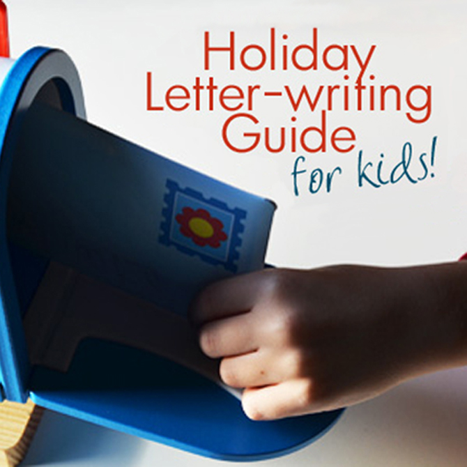 Holiday Letter Writing for Kids!