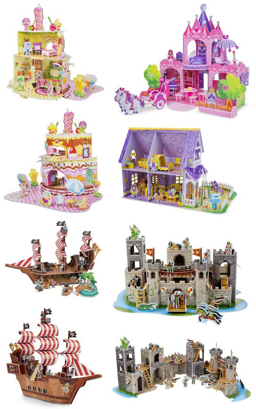 3D Animation Your Kids Can Rock 3D Puzzle Play Sets