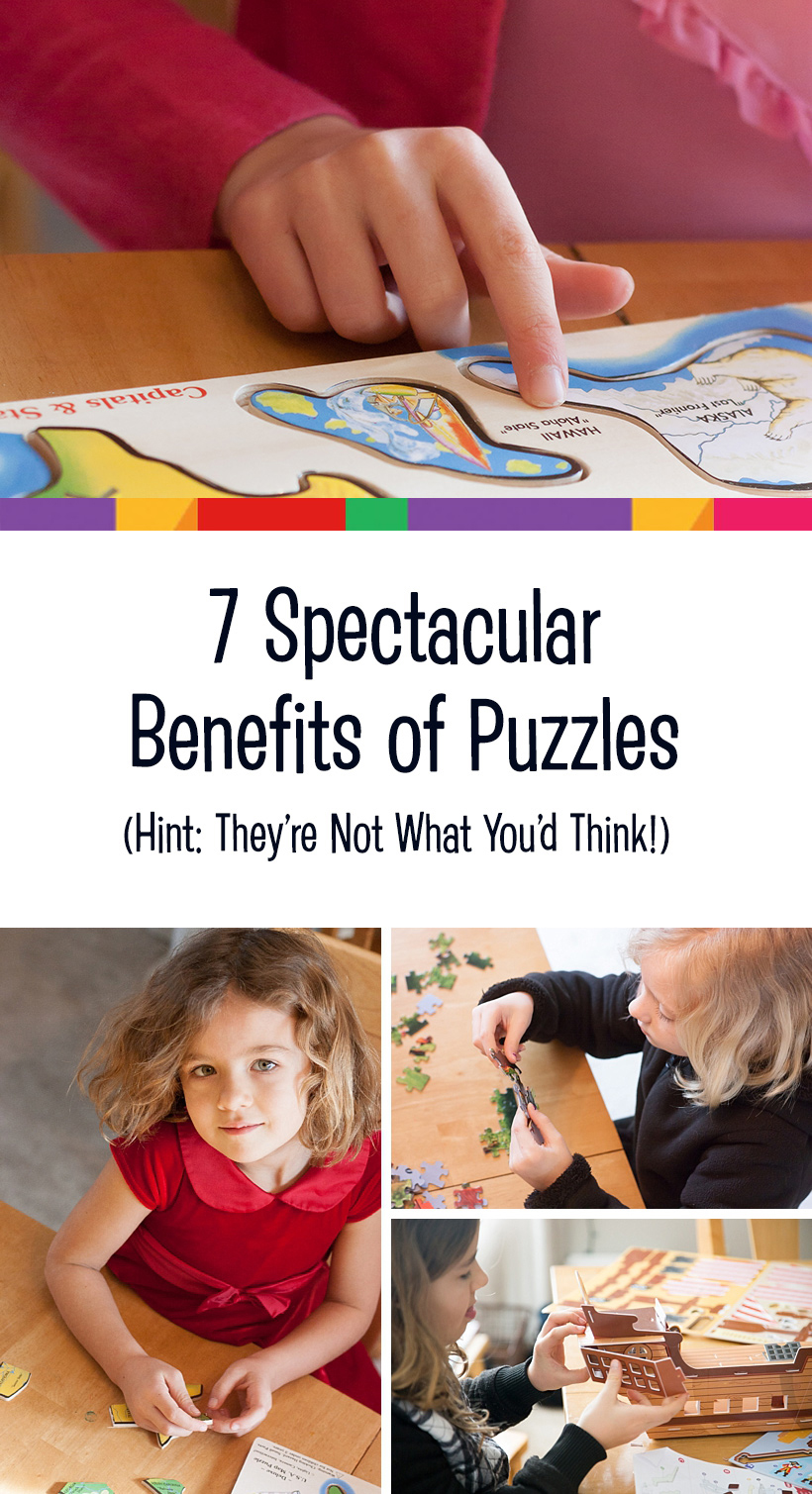 7 spectacular benefits of puzzles Pin