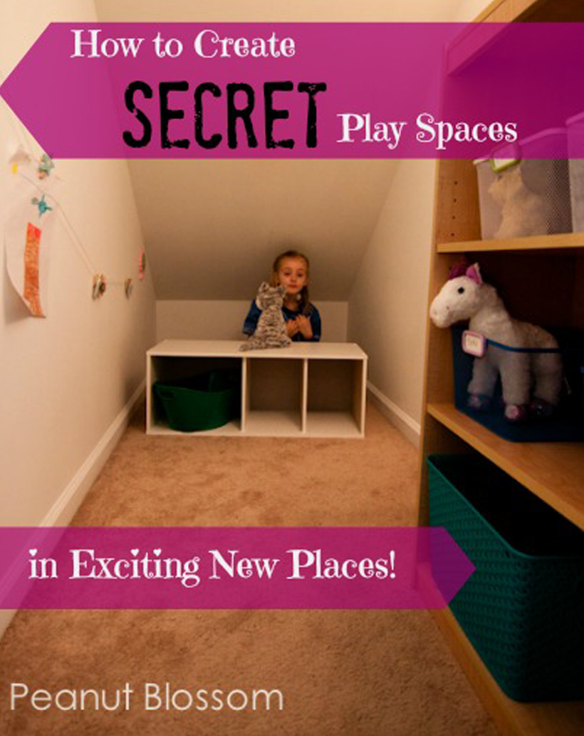 Secret Play Space for Kids