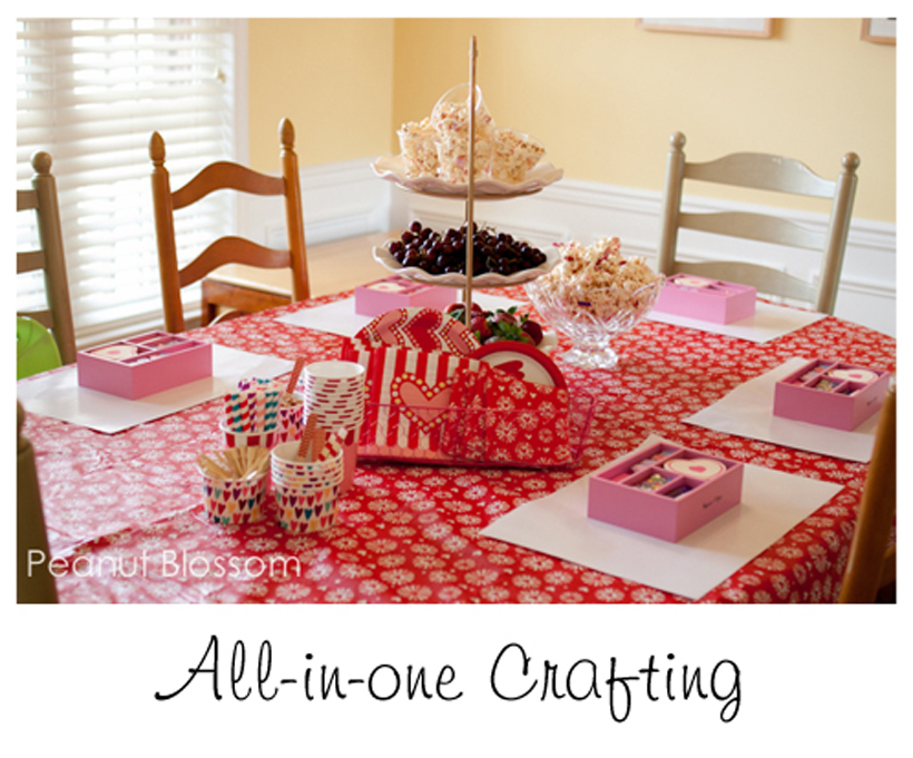 Valentine Party Table
