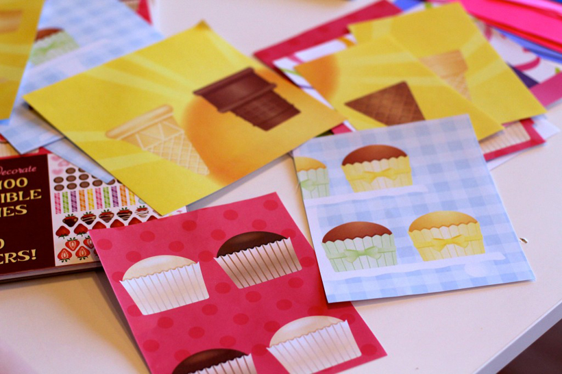 Valentine Mail Bags Sweets & Treats Pages