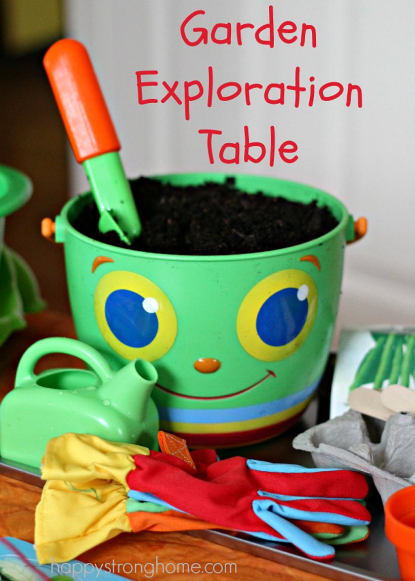 A Garden Exploration Table