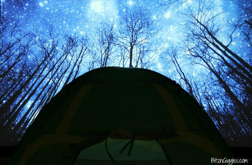 Spring Break Indoor Camping Adventure
