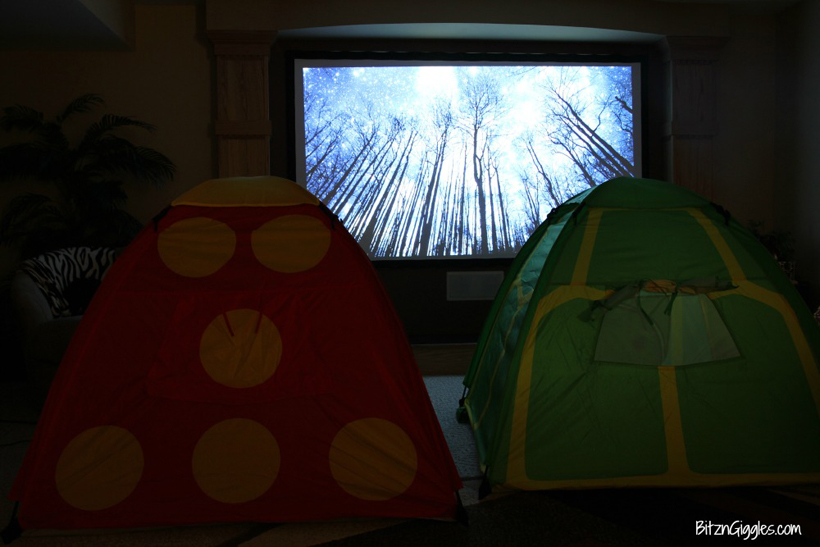 Spring Break Indoor Camping Adventure