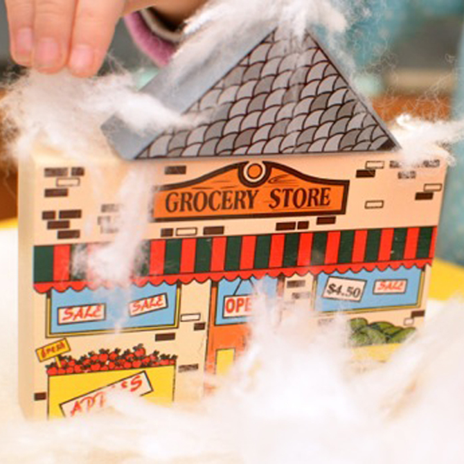 Val's Crafty Corner: Block Play in a Winter Wonderland