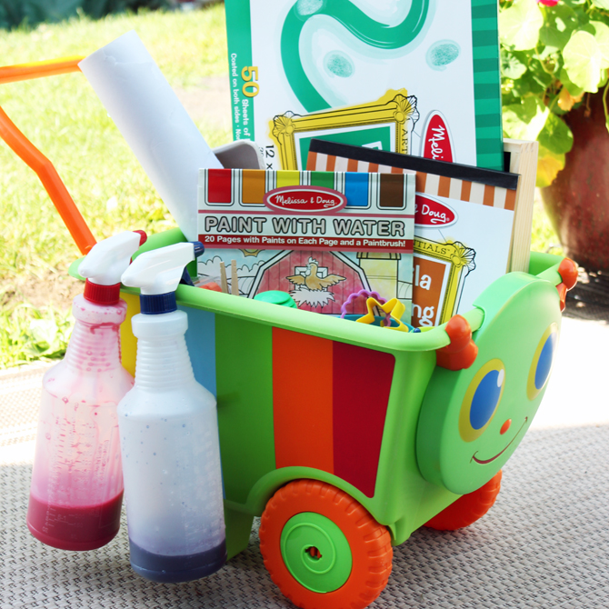 Art on a Cart: Encourage Creativity Every Day!